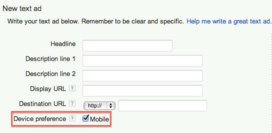 Mobile preferred
