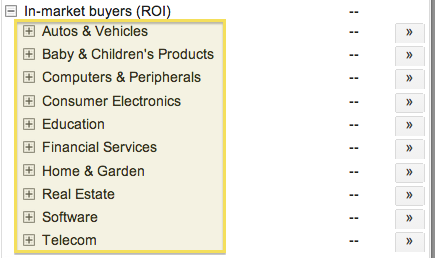 in-market-buyers-categories
